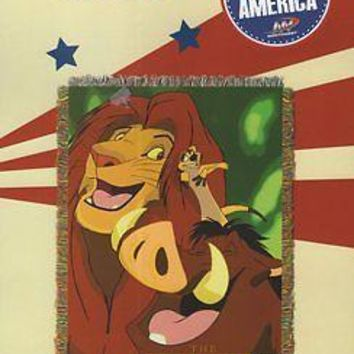 Disney Lion King Jungle Friends 46x60 Woven Tapestry Throw FREE US SHIPPING