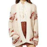 Free People Womens Knit Open Front Cardigan Sweater