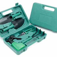 ruff & ready 5 piece garden tool set with case Case of 10