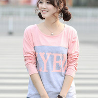 LYED Print Long Sleeve T-shirt