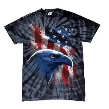 "All American Bald Eagle TShirt ""Old Glory"""