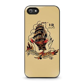 sailor jerry iphone 5 5s se case cover  number 1