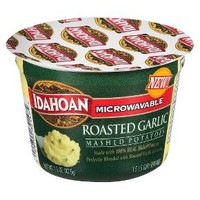 Idahoan Microwavable Roasted Garlic Mashed Potatoes 1.5 oz