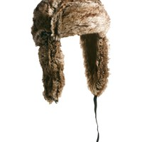 ASOS Trapper Hat in Faux Fur
