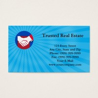 Trusted Real Estate Business card