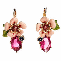 Lily Flower Drop Earrings