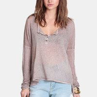 Gina Oversized Top By Black Swan