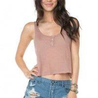 Brandy ♥ Melville |  Adira Ribbed Tank - Just In