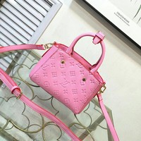 LV Women Fashion Leather Satchel Shoulder Bag Handbag Crossbody