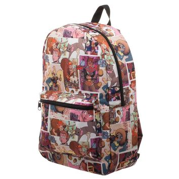 Marvel Squirrel Girl Superhero Backpack - Sublimation Backpack Inspired by Marvel Squirrel Girl Comic
