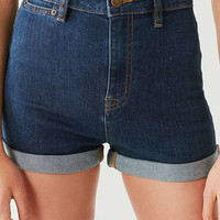 BDG Pinup High-Rise Cuffed Denim Short | Urban Outfitters