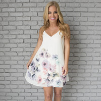 Yours Always Floral Shift Dress