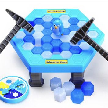 Save The Penguins Lego Toys Board Game Educational Toys Beat on Ice