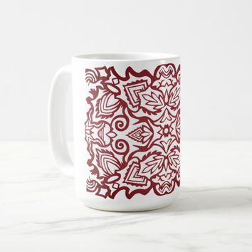 Decorative ornament coffee mug