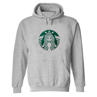 Starbuck Little Mermaid Hoodie Sweatshirt Sweater Shirt Gray and beauty variant color  for Unisex size