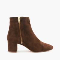 J.Crew Womens Suede Side-Zip Boots