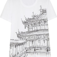 Burberry Prorsum - Printed cotton T-shirt