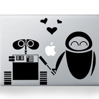 Love OF robot-Mac decals Macbook sticker Macbook pro decal Macbook air decal Aappl decal sticker