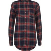 New Look Mobile | Red Tartan Check Shirt