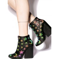 CRAFT MOON AND STARS ANKLE BOOT