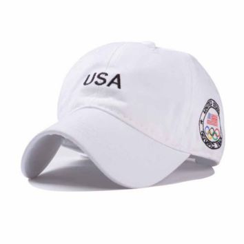 USA Letters Embroidered Baseball Cap Sun Hat
