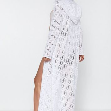 Give 'Em Shade Maxi Cover-Up Kimono