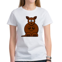 Funny lovely kangaroo Tee> Funny t shirt for women> Funny T-shirts Online