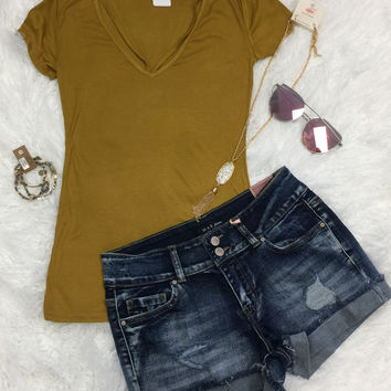 Goes With Everything V-Neck Top