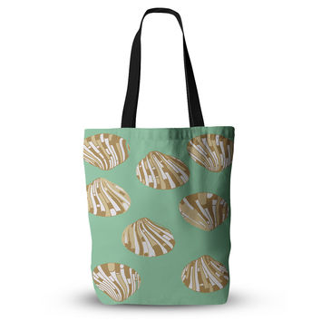 "Rosie Brown ""Scallop Shells"" Everything Tote Bag"