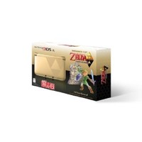 Nintendo Gold Nintendo 3DS XL with The Legend of Zelda: A Link Between Worlds: Nintendo 3DS
