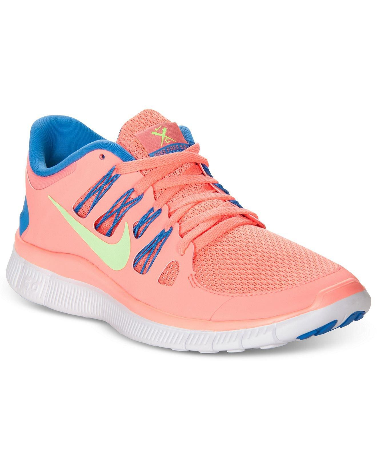 Nike Women's Shoes, Free 5.0+ Sneakers - from Macys | Epic