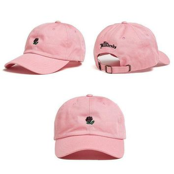 ONETOW Day-First? Pink The Hundreds Rose Strap Cap Adjustable Golf Snapback Baseball Hat
