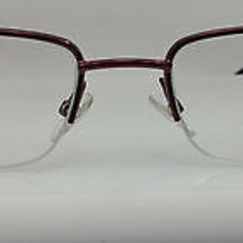 NEW AUTHENTIC GIORGIO ARMANI GA 426 COL PLM RED METAL EYEGLASSES FRAME 53MM