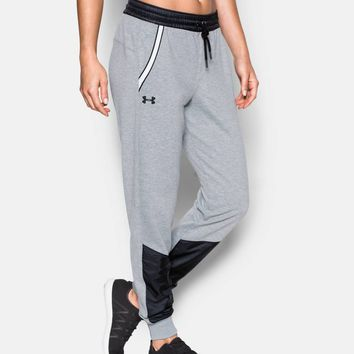 Women's UA Favorite French Terry Warm Up Pant | Under Armour US