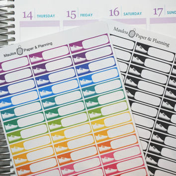 Workout Box: Fitness/Exercise Planner Sticker