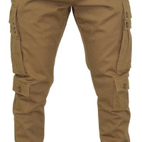 Switch Men's Twill Cargo Joggers Jogging Pants