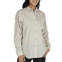 Amazon.com: ExOfficio Women's BugsAway Baja Long Sleeve Shirt: Clothing