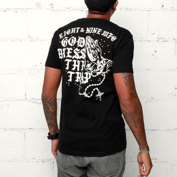 Blessed T Shirt Black