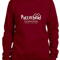 Harry Potter Celebration 2016 SPECIAL LIMITED EDITION PotterHeads Inspired Sweatshirt