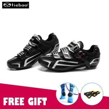 Tiebao cycling shoes road zapatillas ciclismo Road Bike Shoes Cycling Sneakers Athletic Racing Breathable Bicycle sapatilha