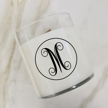 Initial M Candle