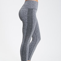 Heathered Seamless Workout Leggings