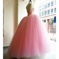 Hot Pink Sleeveless Ball Gown Quinceanera Dress with Beads Custom Size 0 2 4 6 8