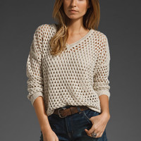 Brandy Melville Velia Sweater in Vanilla from REVOLVEclothing.com