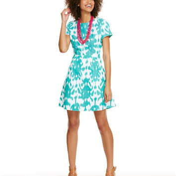 Shop Ikat Fit N Flare Dress at vineyard vines