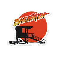 Baewatch Sticker