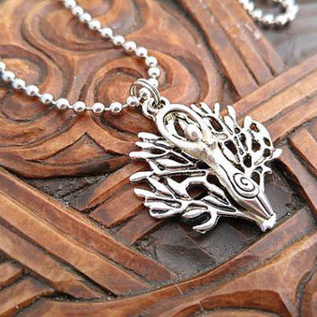 Silver Goddess Necklace, Goddess Necklace, Tree Goddess Necklace, Mother Earth Necklace, Tree of Life