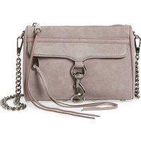 Rebecca Minkoff Mini MAC Nubuck Convertible Crossbody Bag | Nordstrom