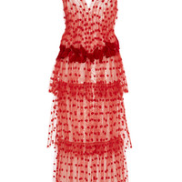 Butterfly Tiered Dress | Moda Operandi