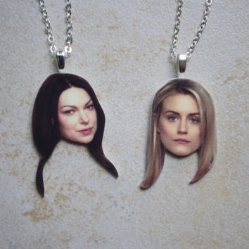 Alex and Piper Friendship Necklaces